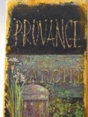 Stojak na noże la Provence